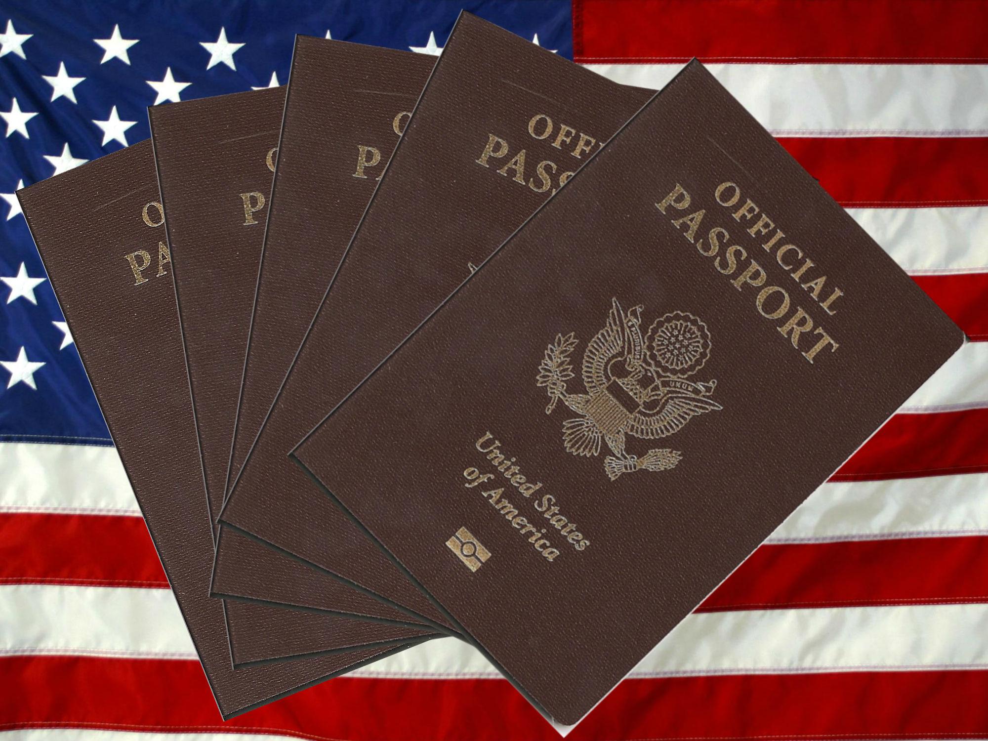 US Official Passport