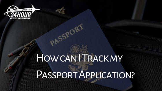 How can I track my passport application?